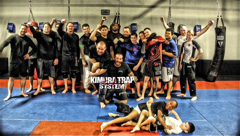 KTS Seminar at UFC Star Alan Belcher's Academy